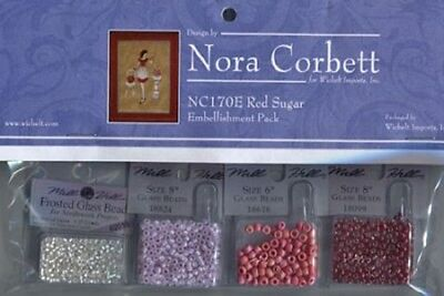 Red Sugar - Red Ladies Collection Embellishment Pack #NC170E - New!, used for sale  Shipping to India
