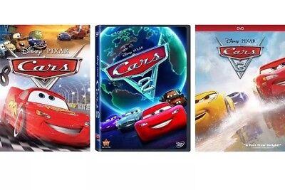 Cars 3  Cars 1  2    3  Movie Set Brand New Sealed