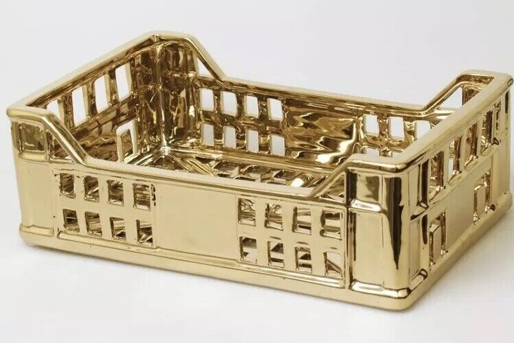 Brand New The Box Seletti Estetico Quotidiano Limited Gold Edition Rare Basket