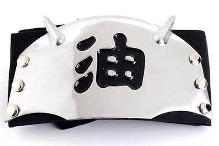 "Naruto Jiraiya Pervy Sage Shinobi Headband Ninja Cosplay Anime 37"" US Seller"