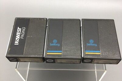 Lot Of 3 Vintage Motorola Metrx Tonevoice Pager Vhf A03bhc1668a 152.840mhze32