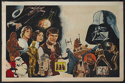 Star Wars (1977) movie poster print  #A18 on Rummage