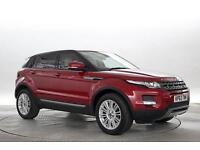 2013 (63 Reg) Land Rover Range Rover Evoque 2.2 SD4 Pure 5dr (Tech Pack) Red DIE