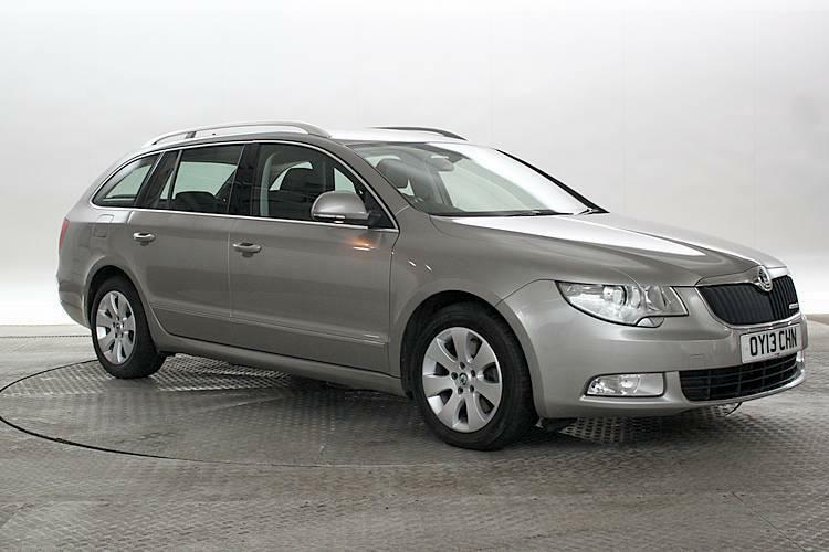 2013 13 reg skoda superb 1 6 tdi greenline ii elegance cappuccino beige estate in west. Black Bedroom Furniture Sets. Home Design Ideas