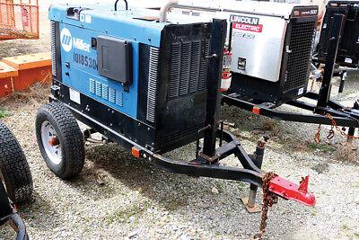 Miller Big Blue 300 Pro 2013 Portable Kubota Diesel Welder Trl. Mtd.