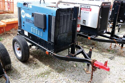 2013 Miller Big Blue 300 Pro Portable Kubota Diesel Welder w/ Trailer