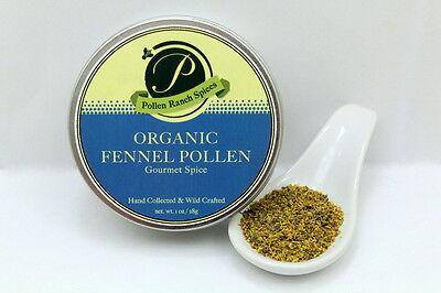 Organic Ranch - Organic Fennel Pollen 1oz Tin (by Pollen Ranch)
