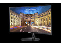 New 27in Samsung CURVED FHD monitor