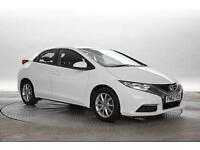 2012 (62 Reg) Honda Civic 1.8 SE Orchid White 5 STANDARD PETROL MANUAL
