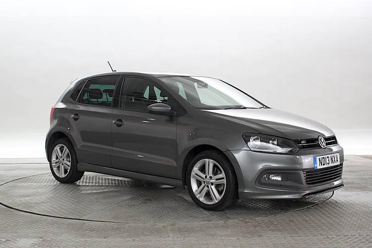2013 13 reg volkswagen polo 1 2 tsi r line nimbus grey 5 standard petrol manua in west. Black Bedroom Furniture Sets. Home Design Ideas