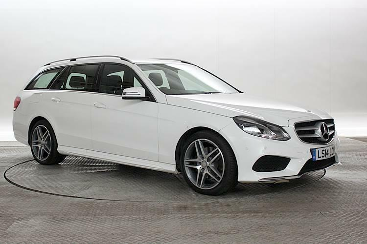 2014 14 reg mercedes e300 2 2 cdi bluetec amg line hybrid white estate electri in west