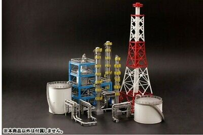 Industrial Area Refinery N scale Set