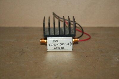 Coaxial Amplifier Broadband Sma 50 Ohm 10-1000 Mhz Zfl-1000h Mini-circuits