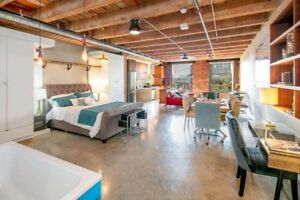 Stunning Live/ Work Loft in Gastown