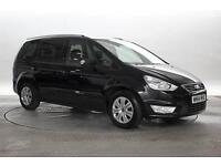 2014 (64 Reg) Ford Galaxy 2.0 TDCi 140 Zetec Powershift Panther Black MPV DIESEL