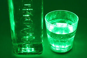 2-PCS-Luz-Led-Coctelera-Abajo-Vidrio-Color-Verde-Verde-Decoracion-Fest