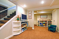 Basement Finishing and Renovation Specialists