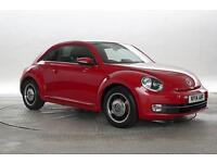 2014 (14 Reg) Volkswagen Beetle 1.2 TSi Design Brilliant Red 3 STANDARD PETROL M