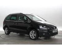 2015 (15 Reg) Seat Alhambra 2.0 TDi 140 SE DSG Deep Black MPV DIESEL AUTOMATIC