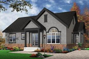 NEW $142,300 CONSTRUCTED 1068 SQ FT BUNGALOW ON YOUR LOT