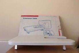 Janome Embellishing Machine Extension Table