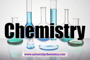 Expert PhD Chemistry Tutor UBC CHEM 233, 123, 121, 205, 154, 203