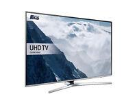 "NEW -ULTRA THIN- 40"" SAMSUNG Smart 4k UHD HDR -1500hz- LED TV -FREEVIEW/SAT HD -WARRANTY"