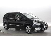 2013 (13 Reg) Ford Galaxy 1.6 TDCi Titanium X Panther Black MPV DIESEL MANUAL