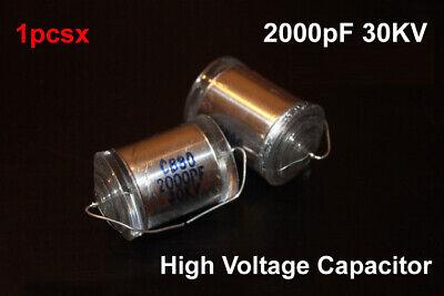 30kv Dc 2000pf High Voltage Film Capacitor Hv Ham Radio Audio Marx Generator
