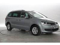 2013 (62 Reg) Volkswagen Sharan 2.0 TDi 170 BlueMotion Tech SE Panthean Grey MPV