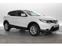 2014 (14 Reg) Nissan Qashqai 1.2 DiG-T Acenta Premium 4x2 White 5 STANDARD PETRO