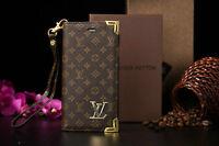 Louis Vuitton Flip Wallet Case for iPhone 5/5s/5c/6 4.7/6 Plus (