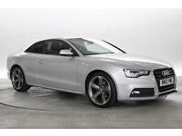 2013 (13 Reg) Audi A5 2.0 TDi 177 Quattro Black Edition Silver COUPE DIESEL MANU