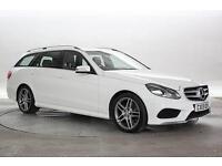 2013 (13 Reg) Mercedes E220 2.2 CDi AMG Sport Polar White ESTATE DIESEL AUTOMATI