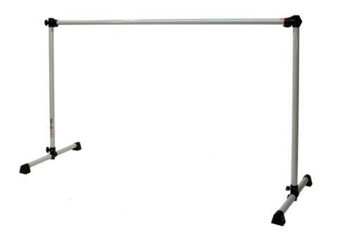Vita Vibe 4ft Freestanding Ballet Barre/Bar ECO4 Dove Gray