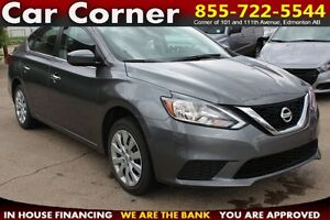 2016 Nissan Sentra S CVT / LOW KMS WITH FACTORY WARRANTY!!
