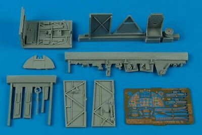 Aires 4366 1:48 Hawker Typhoon Mk.ib Car Door Cockpit Set for Hasegawa Kit