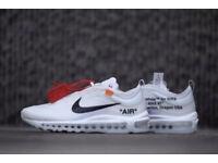 Off White X Nike Air max 97 'The Ten' Virgil Abloh