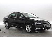 2012 (61 Reg) Volkswagen Passat 2.0 TDi BlueMotion Tech SE Deep Black DIESEL MAN