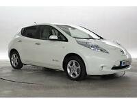 2013 (13 Reg) Nissan Leaf White 5 STANDARD AUTOMATIC