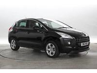 2013 (13 Reg) Peugeot 3008 1.6 HDi Active # Nera Black MPV DIESEL MANUAL