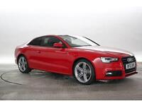 2013 (13 Reg) Audi A5 2.0 TDi 177 Black Edition Misano Red COUPE DIESEL MANUAL