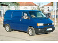 VOLKSWAGEN Transporter T4, Panel van, (kitted out as a basic campervan). £3500
