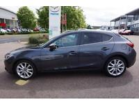 2016 Mazda 3 3 2.2D 150PS Sport Nav Auto Automatic Diesel Hatchback