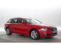 2013 (13 Reg) Audi A4 2.0 TDi 143 SE Technik Avant Multitronic Red ESTATE DIESEL