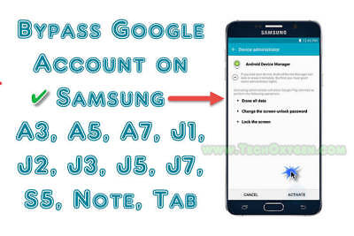Instant Remote Google Account Removal Reset Frp All Samsung