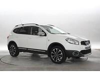 2013 (63 Reg) Nissan Qashqai+2 1.6 dCi 360 4x2 White 5 STANDARD DIESEL MANUAL