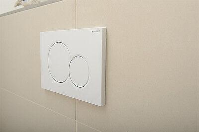 geberit dr ckerplatte sigma 01 wei 2 mengen wc taster dr cker ebay. Black Bedroom Furniture Sets. Home Design Ideas