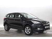 2013 (13 Reg) Ford Kuga 2.0 TDCi 140 Zetec 4x2 Panther Black 5 STANDARD DIESEL M