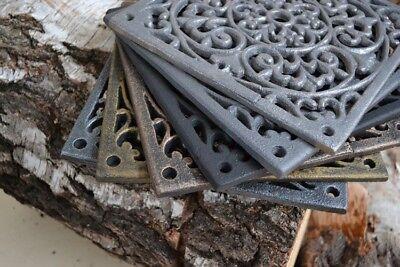 22,5 x22,5 cm Colours Cast iron AIR RETURN GRILLES Vintage Victorian Cover DZ072